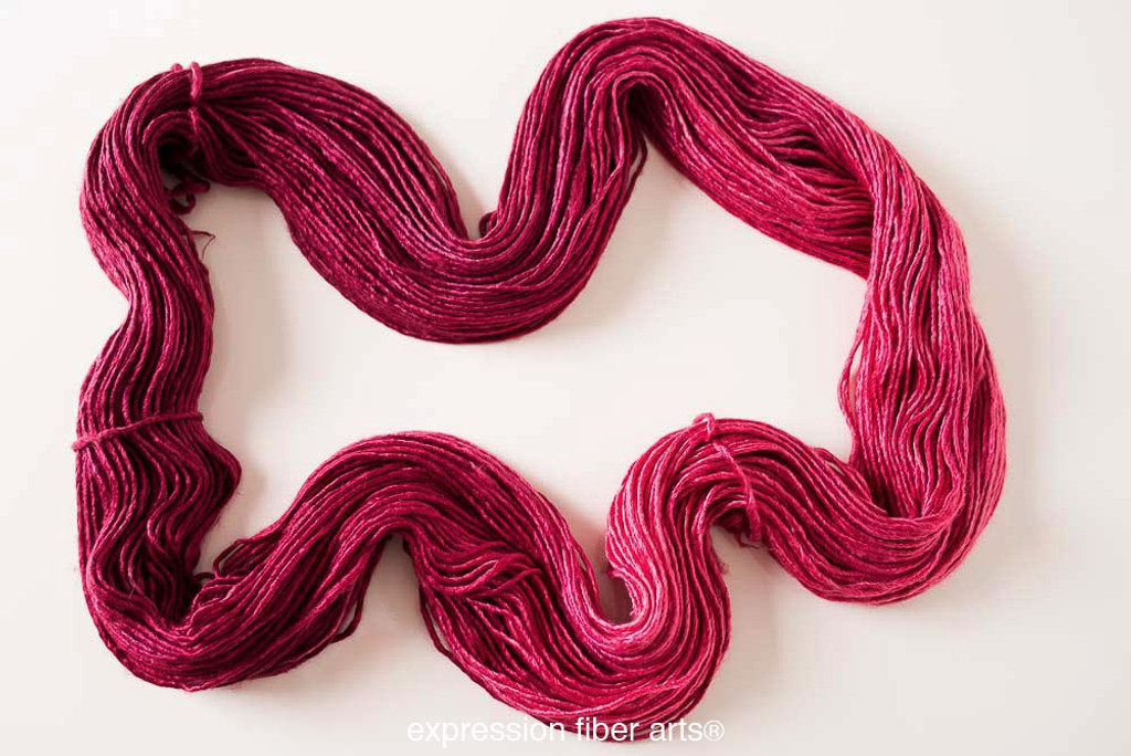 JULY RUBY SUPERWASH MERINO SILK PEARLESCENT WORSTED