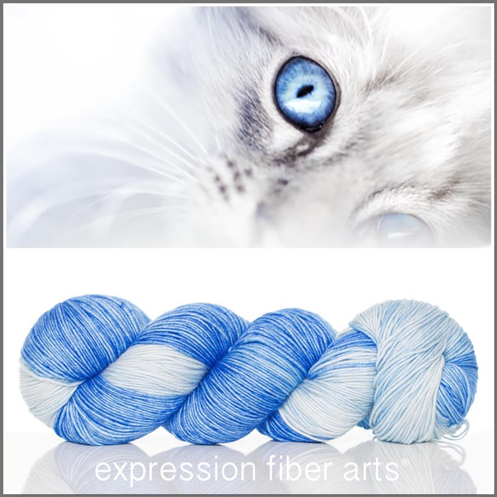 BABY BLUE EYES 'RESILIENT' SUPERWASH MERINO SOCK