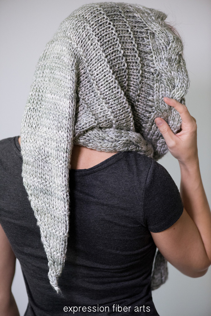 Silverberry Knit Hood