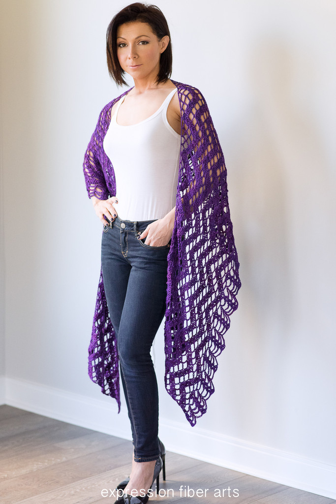 Date Night Wrap Crochet Pattern