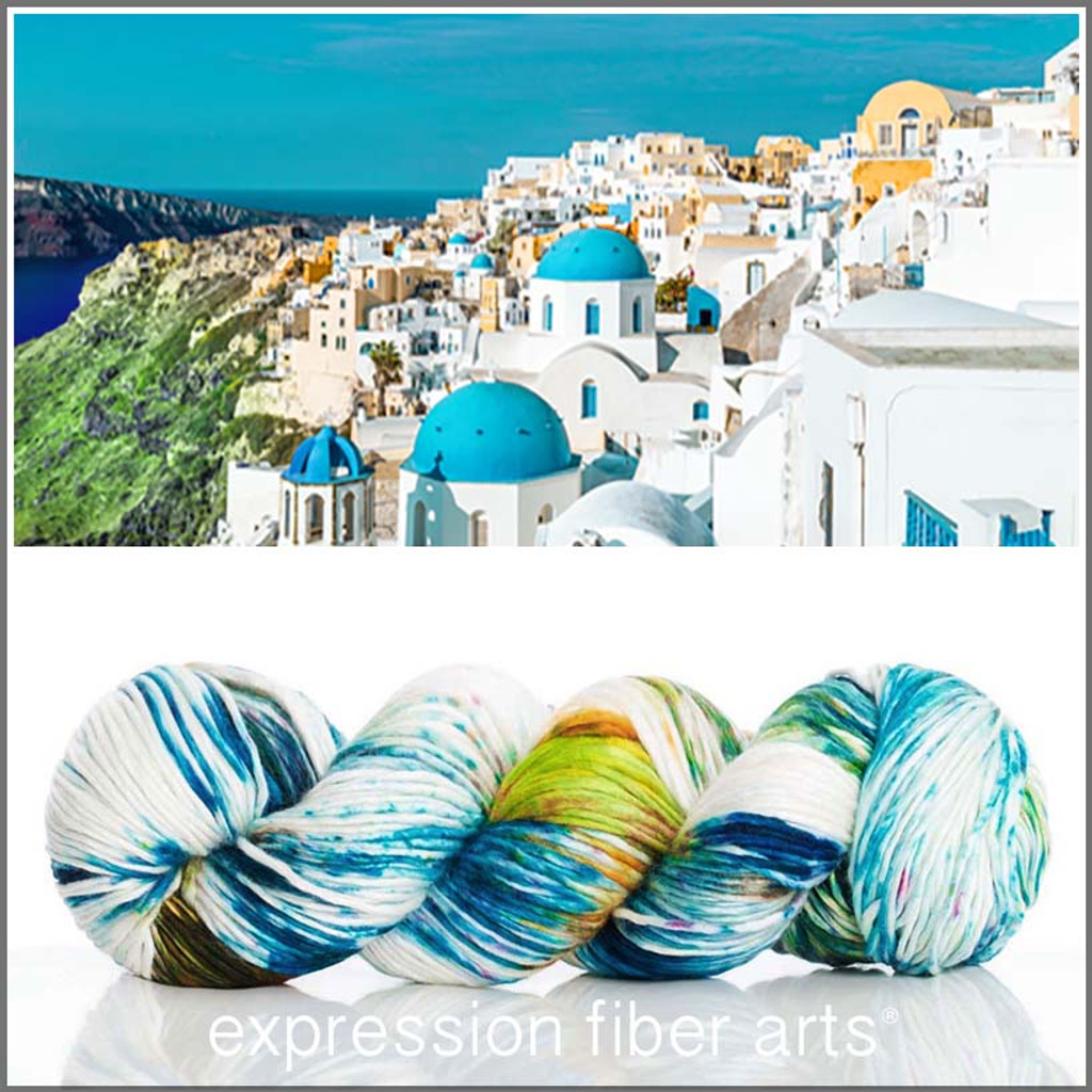 SANTORINI SUPERWASH MERINO SILK PEARLESCENT WORSTED