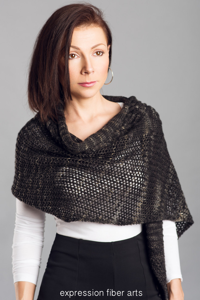 West King Knitted Shawl Pattern