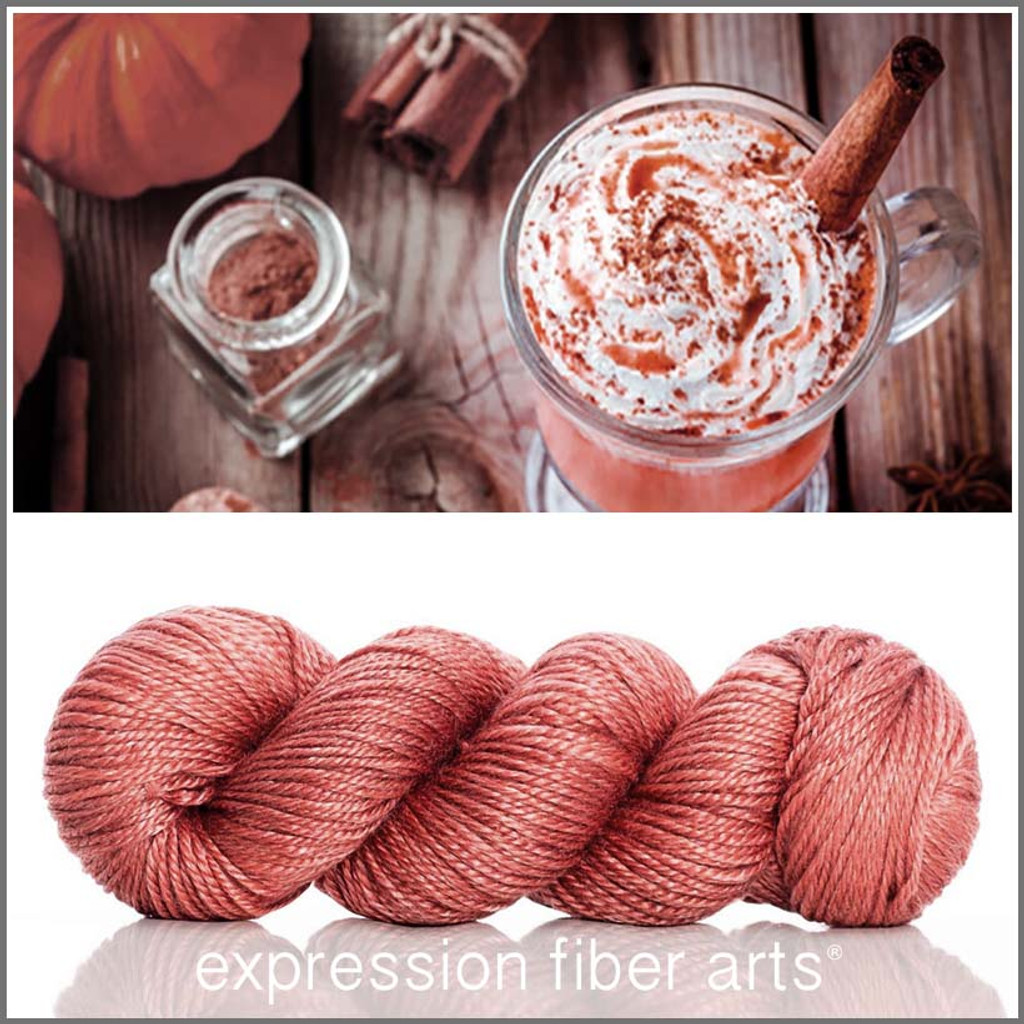 Pre-Order SPICE 'LUSTER' SUPERWASH MERINO TENCEL WORSTED