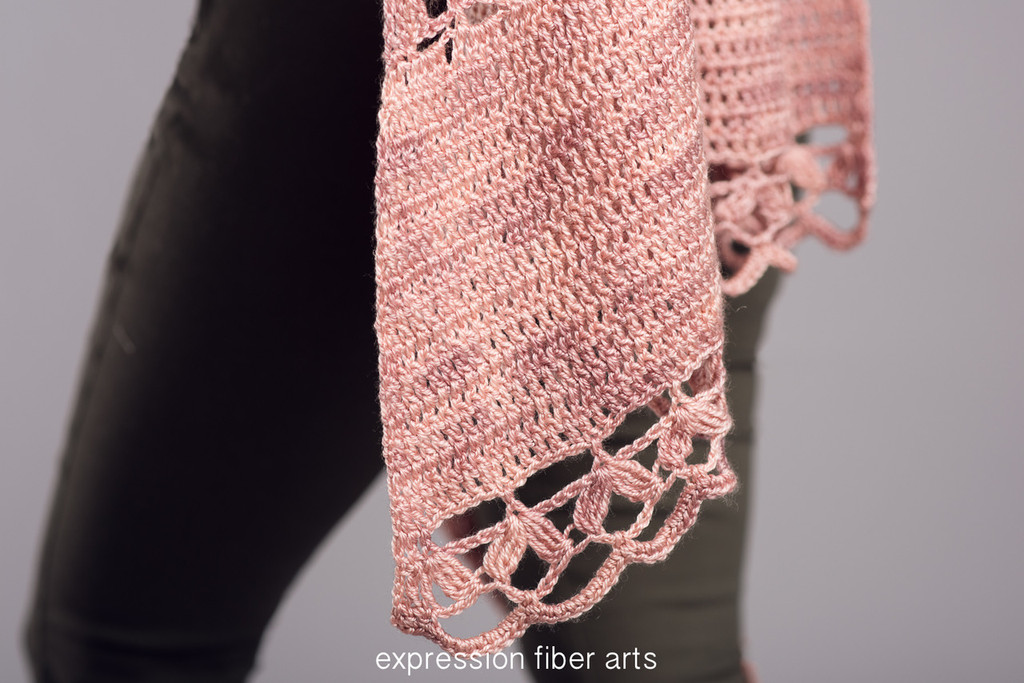 Rose Garden Crochet Shawl Pattern