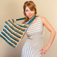 Waves and Shells Market Bag Crochet Pattern