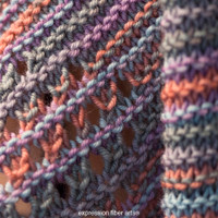 Morning Dewdrop Knitted Shawl Pattern