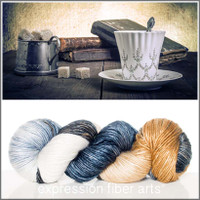 POETRY AND PROSE SUPERWASH MERINO SILK PEARLESCENT WORSTED