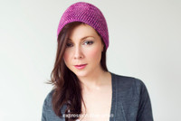 Beginner's Crochet Hat Kit - Choose Your Color