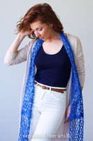 Whiffle Crochet Scarf Pattern