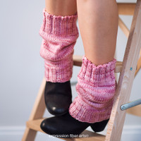 Scrunchable Knitted Leg Warmer Pattern