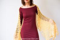 Sweet Pea Crochet Shawl Pattern