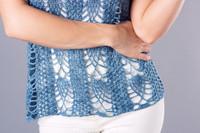 Summer Rain Crochet Tank Top Pattern