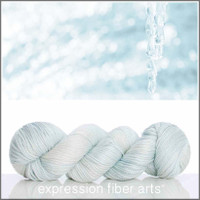 ICICLE 'LUSTER' SUPERWASH MERINO TENCEL WORSTED