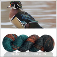 WOOD DUCK 'RESILIENT' SUPERWASH MERINO SOCK