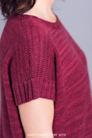 Ponchoesque Knitted Pattern