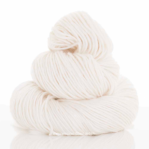 WHIPPED CREAM SUPERWASH MERINO SILK PEARLESCENT WORSTED