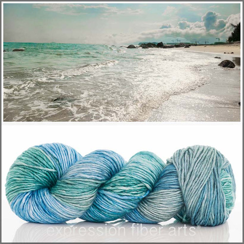 SEA BREEZE SUPERWASH MERINO SILK PEARLESCENT WORSTED