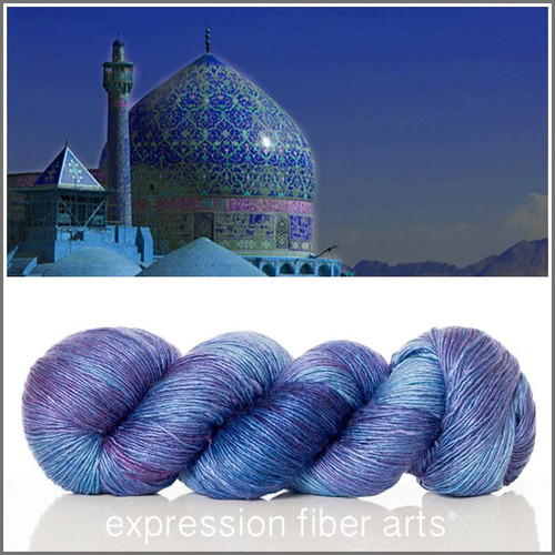PERSIA SUPERWASH MERINO SILK PEARLESCENT FINGERING