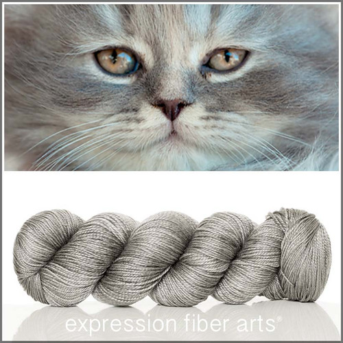 Pre-Order KITTEN 'LUSTER' SUPERWASH MERINO TENCEL SPORT