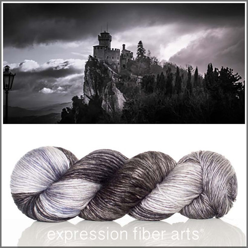 MEDIEVAL SUPERWASH MERINO SILK PEARLESCENT WORSTED