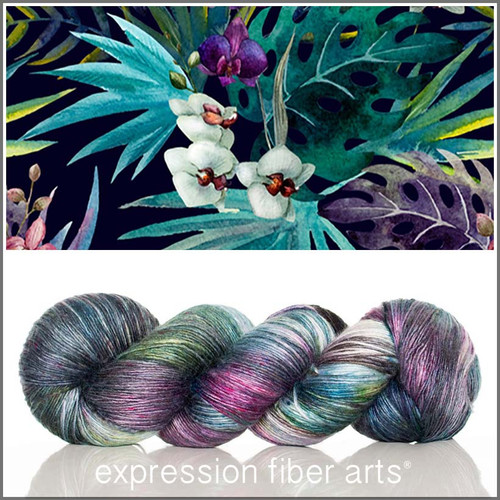 TROPICS SUPERWASH MERINO SILK PEARLESCENT FINGERING