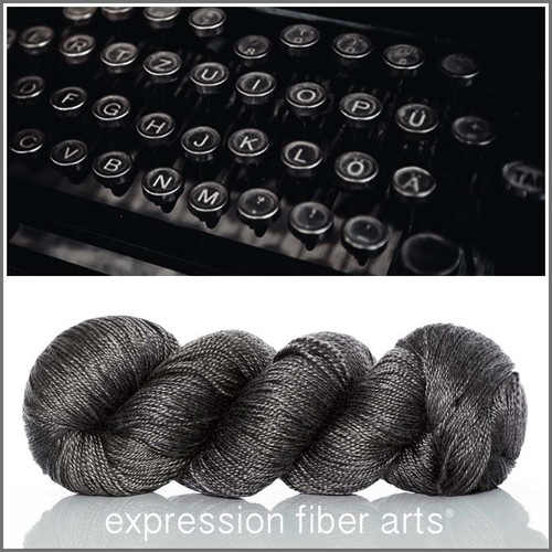 TYPEWRITER 'LUSTER' SUPERWASH MERINO TENCEL SPORT