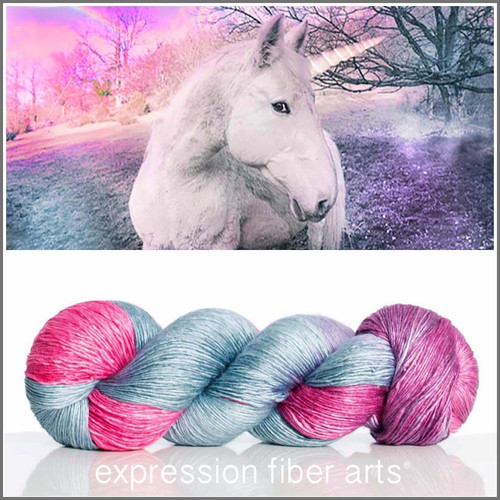 UNICORN SUPERWASH MERINO SILK PEARLESCENT FINGERING