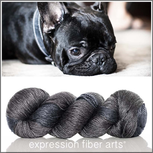 FRENCH BULLDOG 'LUSTER' SUPERWASH MERINO TENCEL SPORT