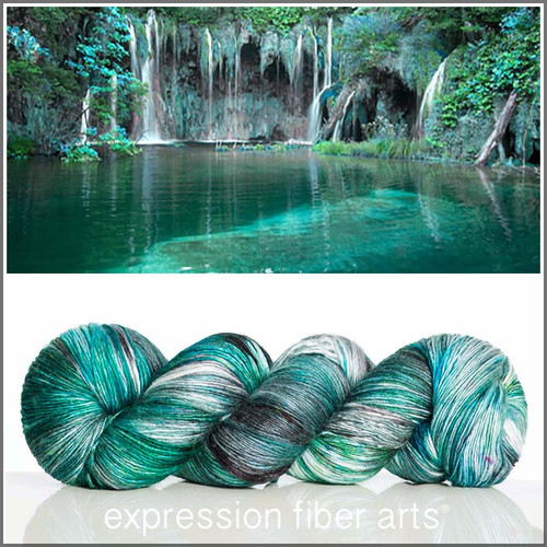 Pre-Order LAKE PEARLESCENT FINGERING for POP Charity
