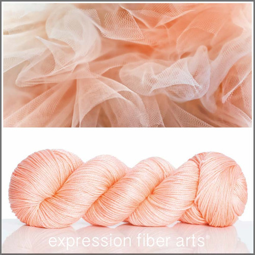 TULLE 'LUSTER' SUPERWASH MERINO TENCEL SPORT