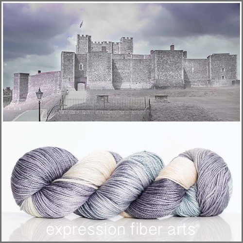 DOVER CASTLE 'LUSTER' SUPERWASH MERINO TENCEL SPORT
