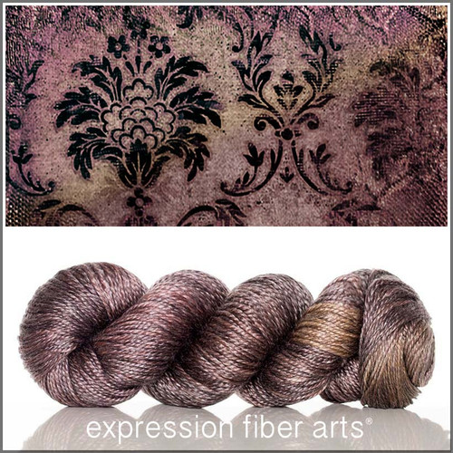 BROCADE 'LUSTER' SUPERWASH MERINO TENCEL WORSTED