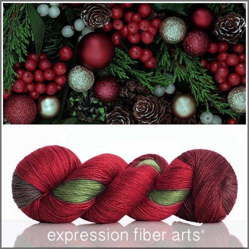 Pre-Order HOLLY AND IVY SUPERWASH MERINO SILK PEARLESCENT FINGERING