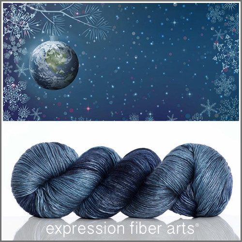 PEACE ON EARTH SUPERWASH MERINO SILK PEARLESCENT FINGERING