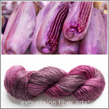 PURPLE MAIZE PEARLESCENT SILK WORSTED