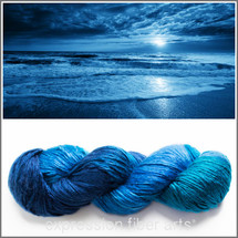 MOONRISE PEARLESCENT SILK WORSTED