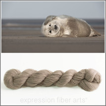GREY SEAL CASHMERE LACE