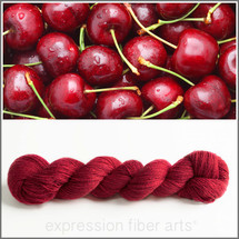 RED CHERRY CASHMERE LACE