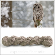 GREAT GREY OWL HAND-SPUN LAMBSWOOL ARAN