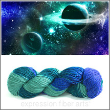 GALAXY DUST SPARKLE SILK FINGERING