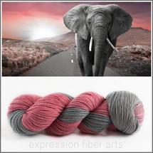 PINK ELEPHANT 'RESILIENT' SUPERWASH MERINO SOCK