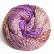 RAZZLEBERRY PIE SHIMMERING CASHMERE FINGERING