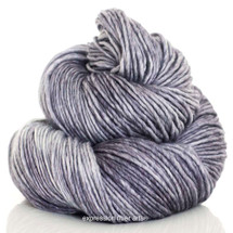 STERLING SILVER SUPERWASH MERINO SILK PEARLESCENT WORSTED