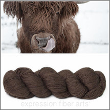 LACE NATURAL CHOCOLATE 100% YAK DOWN