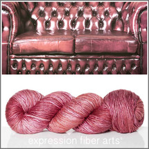 LEATHER SUPERWASH MERINO SILK PEARLESCENT WORSTED