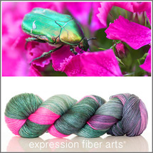 TWITTERPATED SUPERWASH MERINO SILK PEARLESCENT FINGERING