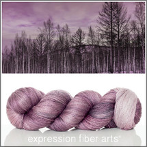 BIRCH FOREST SUNSET YAK SILK LACE YARN