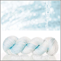 Pre-Order ICICLE SUPERWASH MERINO SILK PEARLESCENT WORSTED