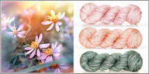 FIND THE MAGIC IN EACH DAY - 3 Skein Kit - DREAM SILK LACE