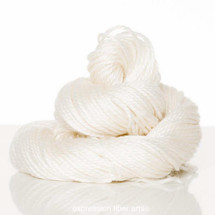 SNOW 'LUSTER' SUPERWASH MERINO TENCEL WORSTED